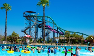 Island Waterpark: All-Day Water-Park Visit with Snack Package for Two or Four at Island Waterpark (Up to $102.96 Off)