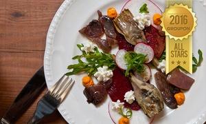 שלו ביער: שלו ביער - מסעדת שף בטבעון: רק 100 ₪ לגרופון זוגי בשווי 200 ₪ לבחירה מהתפריט, או ארוחה זוגית מלאה ב-259 ₪ בלבד!