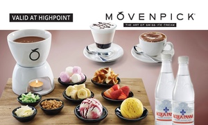 Mövenpick Highpoint: $21 for Fondue, Hot Drinks and Bottles of Water for Two People at Mövenpick Highpoint (Up to $42.85 Value)
