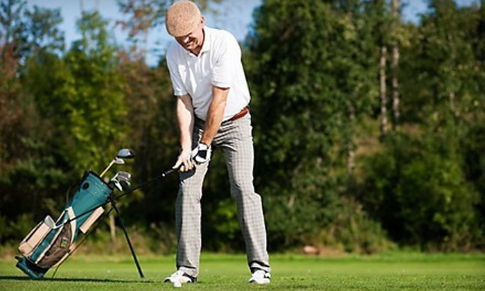Lonnie Poole Golf Course - Southwest Raleigh: $24 for Round of Golf with Cart Rental on Monday–Thursday at Lonnie Poole Golf Course (Up to $49 Value)