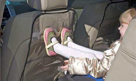 1, 2 o 4 protectores de asiento para respaldos de coche
