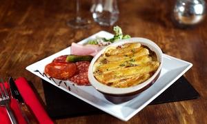 Chti charivari Lomme: Tartiflette ou marolette pour 2 ou 4 personnes, dès 14,50 € au restaurant Ch'ti Charivari - Lomme