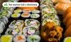 Sushi z opcją dostawy i na wynos