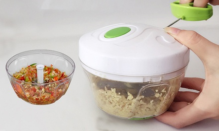Manual Food Chopper: One ($15) or Two ($25)