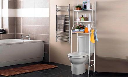 1 o 2 estanterías auxiliares para cuarto de baño