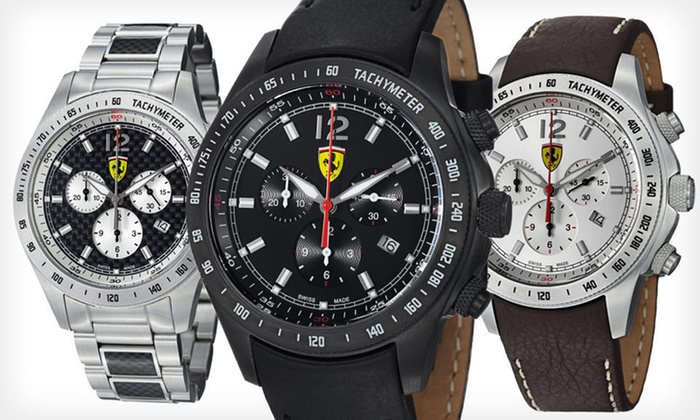Ferrari Men's Watches: Ferrari Men's Watches (Up to 70% Off). 11 Options Available. Free Shipping.