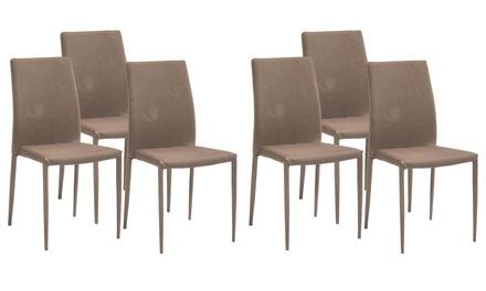 Set di 6 sedie Dani