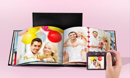 Livre photo en cuir A4 ou A5 paysage relié de 20, 40, 60 ou 100 pages sur le site Printerpix dès 1,99 € (jusqu'à -92%)
