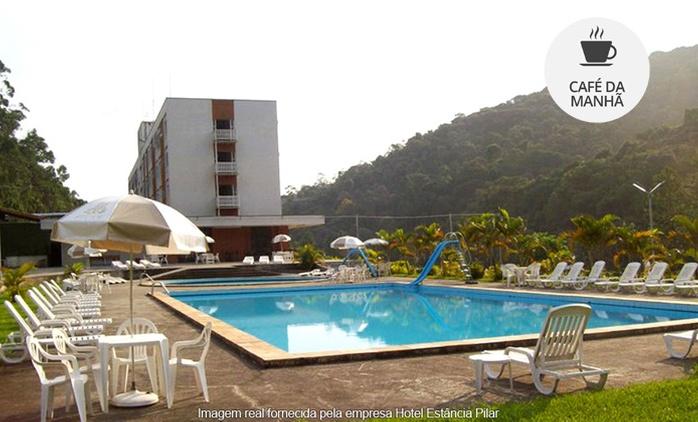 Ribeirão Pires/SP: 1, 2, 3 ou 5 noites para 2 pessoas no Hotel Estância Pilar