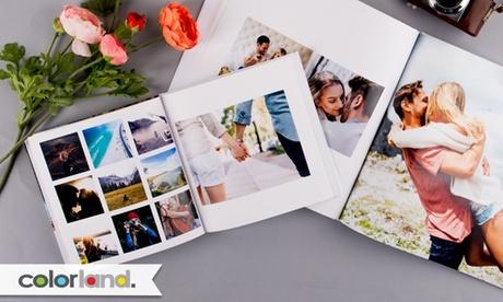 1, 2 o 3 fotolibros clásicos a elegir tamaño y número de páginas con Colorland (hasta 86%de descuento)