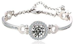 Bracelet orné de cristaux Swarovski®