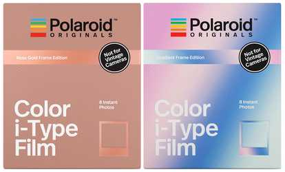 Shop Groupon Color Film for i-Type Rose Gold and for i-Type Gradient Frame 670474cff9ac