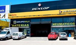 Neubatts: Alineación 3D + balanceo + rotación de neumáticos para auto en Neubatts