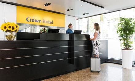 Groupon.it - Eindhoven: camera Comfort o Superior per 2 con colazione opzionale al Crown Hotel Eindhoven Centre 4*