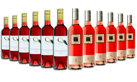 $59 a 12Bottle Mixed Case of Summer Rose Wine from Mudgee and Adelaide Plains Don't Pay $179