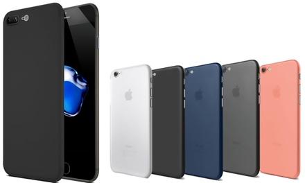 1 of 2 siliconen iPhonehoesjes in model en kleur naar keuze vanaf € 9,99
