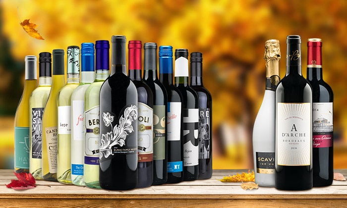 Heartwood & Oak: Wine Bundle of 12 Premium Wines Plus Bonus Gifts from Heartwood & Oak (Up to 81% Off)