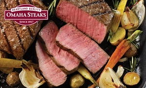 Omaha Steaks: Fall Tailgating Meat Packages from Omaha Steaks (Up to 73% Off). Three Options Available.