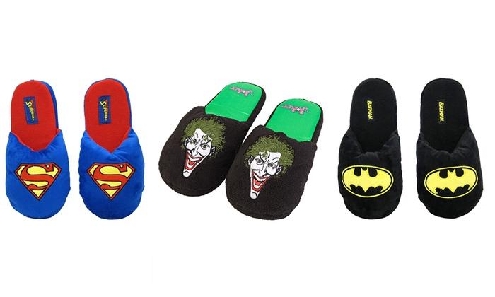Superhero Plush Slippers