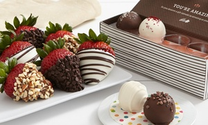 50% Off Gourmet Dipped Strawberries from Shari's Berries at Shari's Berries, plus 9.0% Cash Back from Ebates.