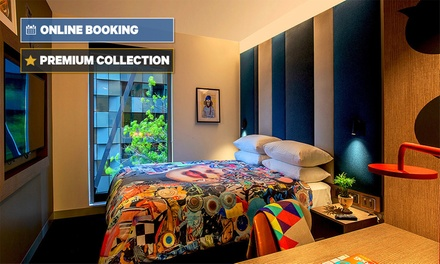 Melbourne: 1- or 2-Night Break for Two with Breakfast, Welcome Drink and Late Check-Out at Ink Hotel Melbourne Southbank