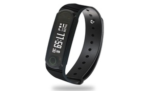 Jarv Elite Water-Resistant Fitness Tracker Activity Band & Smart Watch