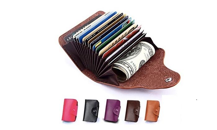 Portafoglio portacarte di credito