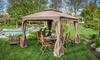 Chanelle Outdoor Gazebo Canopy: Chanelle Outdoor Gazebo Canopy