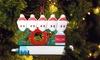 Personalised 2021 Christmas Tree Ornament