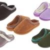 Floopi Women's Indoor and Outdoor Clog Slippers with Memory Foam