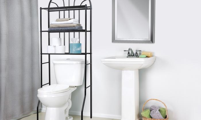 Home Basics Bathroom Shelves   Groupon Goods