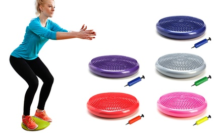 $16 for Stability Balance Cushion with Pump for Yoga and Exercise Don't Pay $47.29