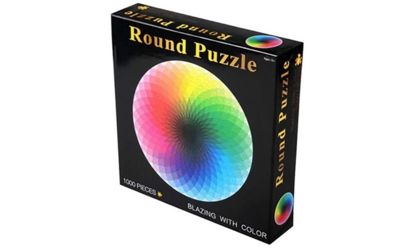 1000 Pieces Colourful Rainbow Jigsaw Puzzle