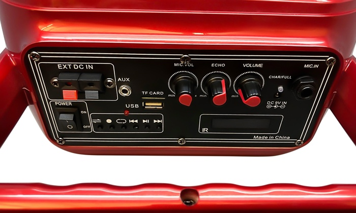 Up To 52% Off on Fisher Karaoke Stereo System | Groupon Goods
