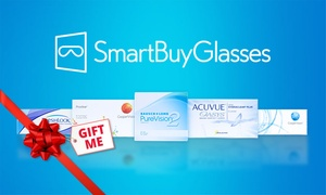 SmartBuyGlasses: $19 for $40 Credit to Spend on any Contact Lenses