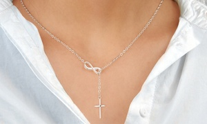 Collier Croix Infinity