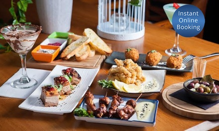 Spanish Tapas with Glass of Wine for Two $49, Four $95 or Six People $142 at Bensons on Martin Up to $297 Value