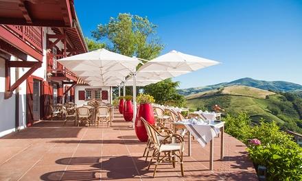 Menu gastronomique avec entrée plat et dessert pour 2 personnes dès 59,90 € au restaurant de lAuberge Ostape