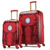 American Tourister Iron Man-Themed Print Hard-Sided Spinner Luggage