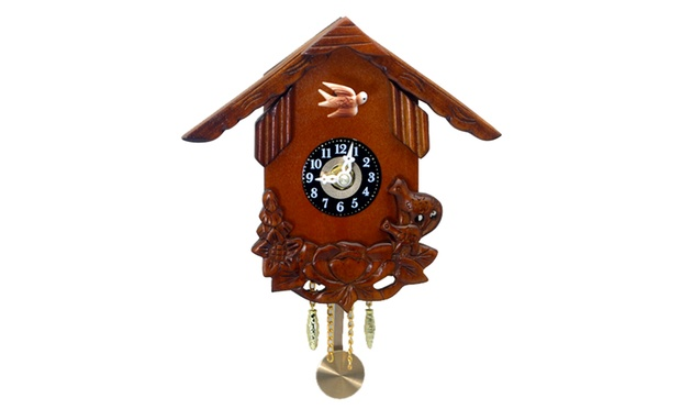From 49 for a wooden cuckoo pendulum wall clock australia sale - Cuckoo clock pendulum ...
