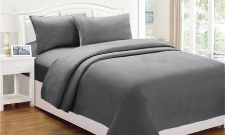 Polar Fleece Sheet Set: Single $29, Double $35, Queen $39, King $49 Don't Pay up to $79.95