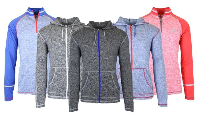 Men Long Sleeve Alaska On Print Drawstring Kangaroo Pocket Pullover Hooded Sweatshirt