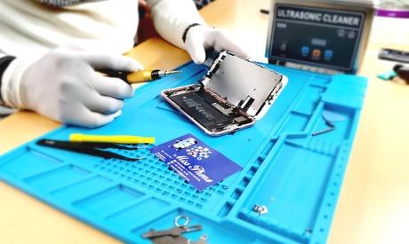 Display-Reparatur für iPhone- und Samsung-Modelle inkl. Panzerglas-Folie bei Miss Phone in Sion