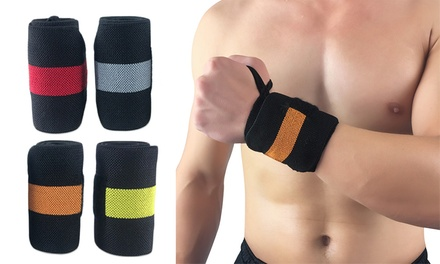 Weightlifting Wrist Support Strap: One ($9.95) or Two ($15)