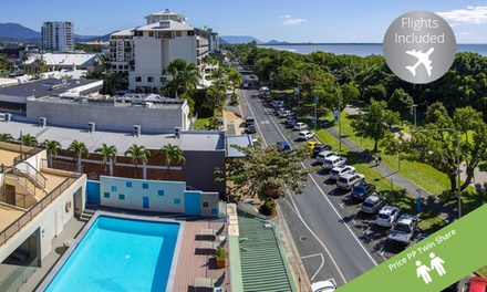Cairns: Per Person for a ThreeNight Break with Flights and Breakfast at Great Pacific Travels