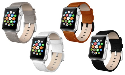 Leren bandjes voor Apple watch, voor alle 38 mm en 42 mm varianten