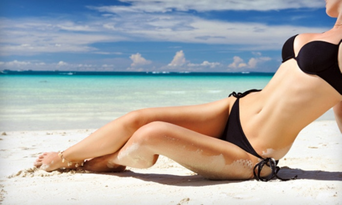 SunSational Tanning - Spokane Valley: $39 for One Month of Unlimited Bed Tanning or Three Spray Tans at SunSational Tanning in Spokane Valley (Up to $149.97 Value)