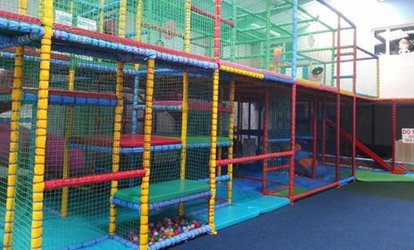 Children Indoor Play Centre Entry for Up to Four at Manic Minors (Up to 56% Off)