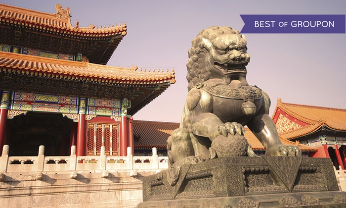 10-Day China Vacation with Airfare from Gate 1 Travel