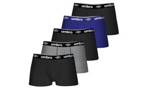 Pack de 3, 5 ou 8 boxers Umbro en coton pour homme
